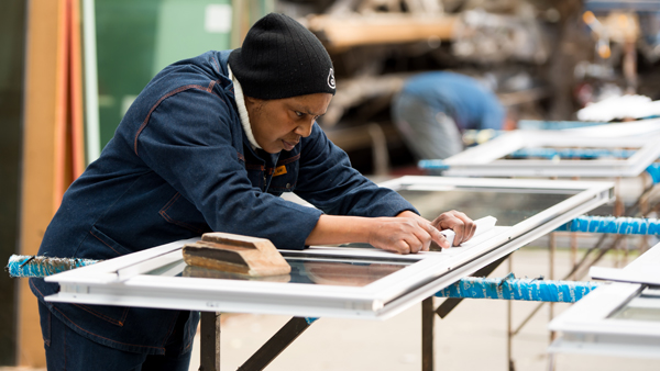 workshop aluminium shopfitters gauteng windows doors